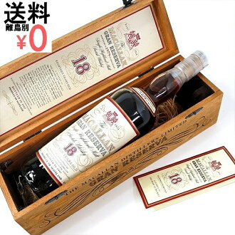 Kusu Macallan 18 year グランレゼルバ 1979 The MACALLAN 18years GRAN RESERVA end sold only 50 barrels! MACALLAN グランレゼルヴァ