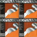バイオリン弦 ドミナント Dominant 4弦セット 箱入り135B (E A Dアルミ G)