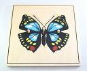 モンテッソーリ ちょうちょパズル Montessori Butterfly Puzzle 知育玩具