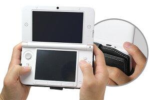 PDAIRレザーケースforニンテンドー3DSLL横開きタイプ