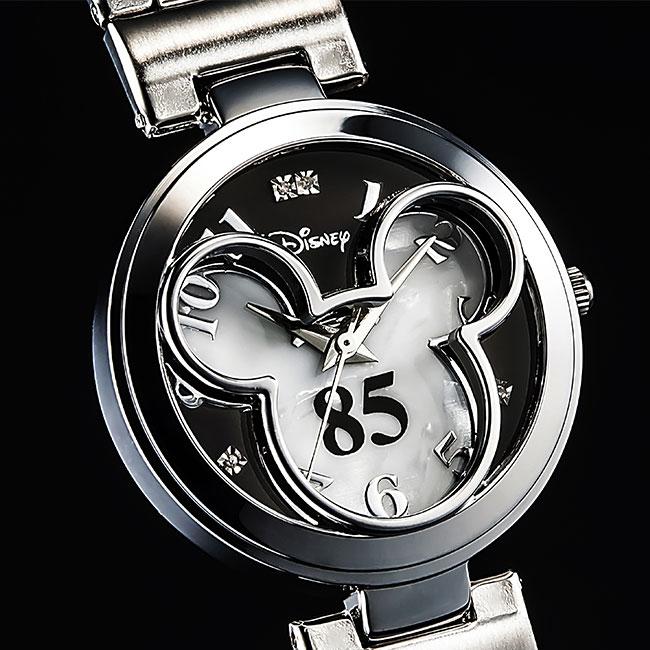 【送料無料】ミッキー生誕85周年記念 世界限定メモリアルダイヤ時計【smtb-TD】【saitama】