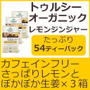Tulsi トゥルシーティー レモンジンジャー 18ティーバッグ×3箱 カフェインフリー オーガニックインディア社グルテンフリー コーシャー USDA認定アイスで飲んでもホットでも◎3種類のトゥルシーに生姜をブレンドアダプトゲンハーブティー
