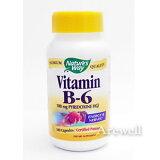 ★補給が必要 水溶性ビタミンBビタミンB6(ピリドキシン) 100カプセル【220926】