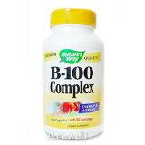 ★ビタミンBをバランスよく配合!【お徳用】ビタミンB100コンプレックス 100カプセル【220926】