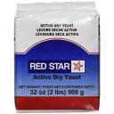 アクティブ ドライイースト 908g Red Star社製イースト予備発酵だからHBで失敗のない発酵ができる!Dry Active Yeastドライ アクティブ..