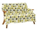 マルチカバー 正方形 140×140cm 北欧 Vita home ピコ グリーン 綿100% 日本製