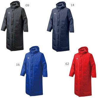 美津濃 Mizuno 男裝棒球潔具板凳外套地面外套大外套長度套筒夾克 12JE6G60 與外部罩