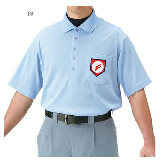 男孩和美津濃 Mizuno 男裝棒球潔具高中棒球聯賽裁判員的短袖襯衫諾福克 52HU130