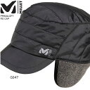 ミレー MILLET メンズ 帽子 プリマロフト リップストップ キャップ PRIMALOFT RS CAP 防寒 MIV6220