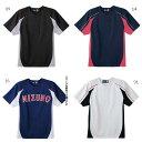 ミズノ Mizuno ジュニア キッズ イージーシャツ 野球ウェア 半袖シャツ ユニフォーム 52MJ450