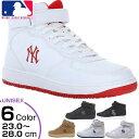 メジャーリーグベースボール MLB メンズ レディース ジュニア ニューヨークヤンキース NY LA スニーカー シューズ ハイカット MLB-2011 MLB2011