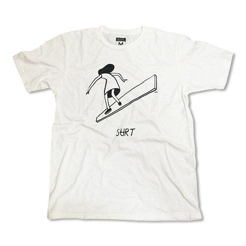 SURT GIRL by Geoff Mcfetridge Tシャツ