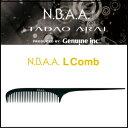 【600円クーポン】NBAA NB-CL Lコーム 《美容師 コーム 道具》