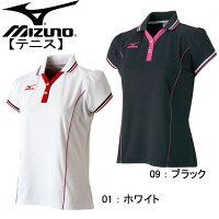 レディース ゲームシャツ 【MIZUNO】ミズノ レディースラケットスポーツウェアー 15SS (62JA4303)*44の画像