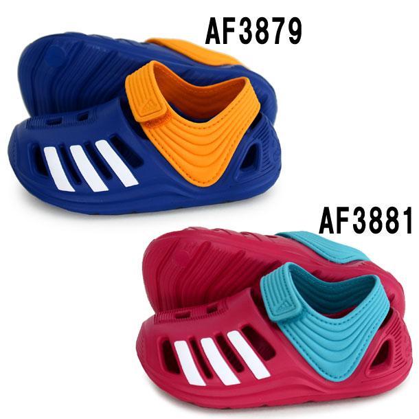BABY Zサンダル Infant【adidas】アディダス ベビー キッズ サンダル ビーチサンダル 16SS(AF3879/AF3881)*60