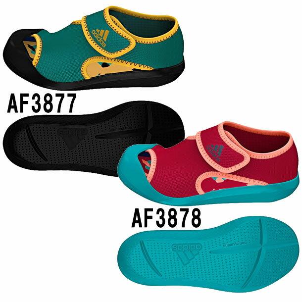 CHILD サンダルファン C【adidas】アディダス JR サンダル ビーチサンダル 16SS(AF3877/AF3878)*66