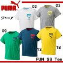 FUN SS TEE【PUMA】プーマ ● ジュニア 半袖Tシャツ16SS(839038)*51