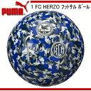 1 FC HERZO フットサルボール【PUMA】プーマ ●フットサルボール 4号球 16FW(082687-01)*43