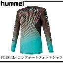 FC.SKULL-コンフォートフィットシャツ【hummel】ヒュンメル ● サッカーウエア 16AW(HAP7096ZS)*30