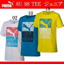 SU SS TEE (ジュニア)【PUMA】プーマ ● JR Tシャツ(514544)*55