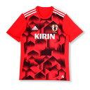 KIDS サッカー日本代表RENGI グラフィックトレーニングジャージー 半袖2【adidas】アディダス ジュニア JAPAN 代表ウェア17SS(CMX26-BI2184)*00