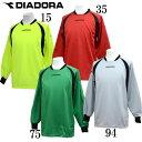 キーパーシャツ【DIADORA】ディアドラ ● サッカー キーパーウェア17FW(FG5311)*68