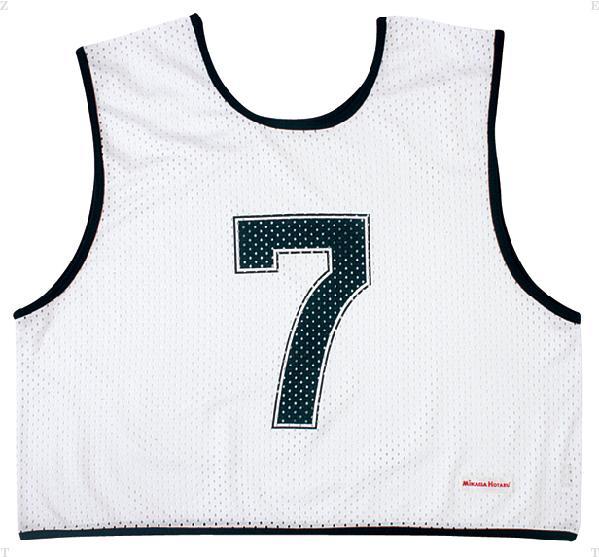 ゲームジャケット ハーフ10枚 ホワイト【MIKASA】ミカサマルチSP11FW mikasa(GJH10W)<発送に2〜5日掛かります。>*20