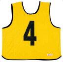 ゲームジャケット レギュラーサイズイエロー【MIKASA】ミカサマルチSP11FW mikasa(GJR2Y)*20