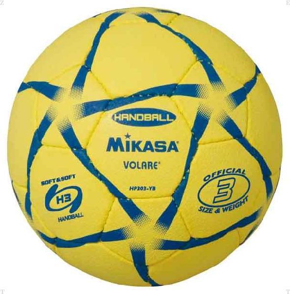 ハンド3号 練習球 黄/黒【MIKASA】ミカサハントドッチmikasa(HP303YB)<お取り寄せ商品の為、発送に2〜5日掛かります。>*21