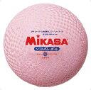 ソフトバレーボール糸巻タイプ ピンク【MIKASA】ミカサバレー11FW mikasa(MS64DXP)*25