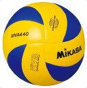 バレー4号 練習球 黄/青【MIKASA】ミカサバレーmikasa(MVA440)<お取り寄せ商品の為、発送に2~5日掛かります。>*20