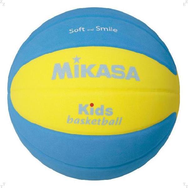 キッズバスケットボール5号EVA黄/青【MIKASA】ミカサバレー11FW mikasa(SB5YBL)*21