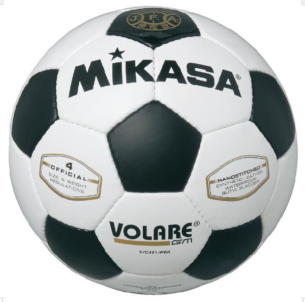 サッカー 4号 検定球 白/黒【MIKASA】ミ...の商品画像