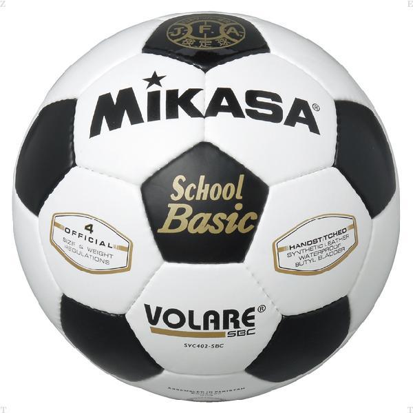 サッカー 4号 検定球 白/黒【MIKASA】ミカササッカー11FW mikasa(SVC402SBC)<お取り寄せ商品の為、発送に2〜5日掛かります。>*21