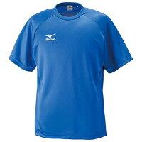 ゲームシャツ(半袖)(サッカー) (24ブルー) 【MIZUNO】ミズノ フットボール サッカー ウエア ゲームウエア (p2ja400224)*46の画像