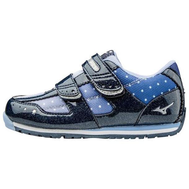 ビーズキララ3(キッズシューズ) 【MIZUNO】ミズノ ミズノの子ども靴 キッズ(サイズ:16〜22cm) (K1GD1735)*29