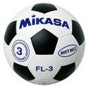 ジュニアサッカーボール3号普及品【MIKASA】ミカササッカーキョウギボール(FL3WBK)*20