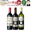 【送料無料】ワインソムリエおすすめ!!フランス産赤&白ワイン...