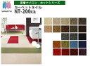 サンゲツ カーペットタイル NT-200cx 原着ナイロン 50cm×50cm 【1ケース:16枚】 人気のサンゲツタイルカーペット NTシリーズ ビバだからできる激安価格