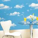 のりなし のり付き  雲 青空クロスサンゲツ RE-2779