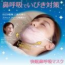 マスク 快眠 鼻呼吸 いびき対策 乾燥対策 口臭対策 ネックピロー 呼吸 レーヨン シルク [ 快眠鼻呼吸マスク ]