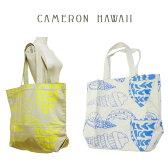 vivi掲載ブランドCameron hawaiiキャメロンハワイジムバッグにも♪ビーチにも♪ショッピングにも♪ビッグバッグ エコバッグ