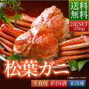 送料無料 鳥取県 境港産 ボイル 松葉カニ 蟹 A級 550...