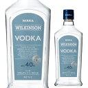 ウィルキンソン ウォッカ 300ml 40度 日本 ウォッカ VODKA スピリッツ ウイルキンソン 長S