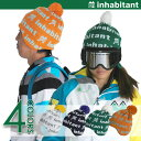 [インハビタント] snowboarding knit knit hat boardware Snow inhabitantMUSIC BEANIE beanie (IHMB7707)NO MUSIC, NO LIFE [RCP]