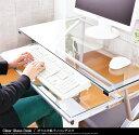 あす楽対応 パソコンデスク ガラス天板パソコンデスク ガラスデスク RCP vm-m