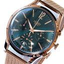 ヘンリーロンドン HENRY LONDON 腕時計 メンズ レディース ユニセックス クロノグラフ グリーン ストラトフォード STRATFORD 39mm