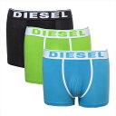 ショッピングディーゼル ディーゼル DIESEL ボクサーパンツ3枚セット 3枚組 メンズ 無地 ロゴ XLサイズ