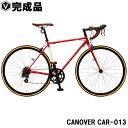 ロードバイク 自転車【完成品】700c(約27インチ) ロー...