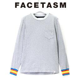 FACETASM <strong>ファセッタズム</strong> RIB LONG TEE リブ ロングスリーブTシャツ メンズ 2019 新作 【15___00までのご注文で即日配送】 プレゼント ギフト